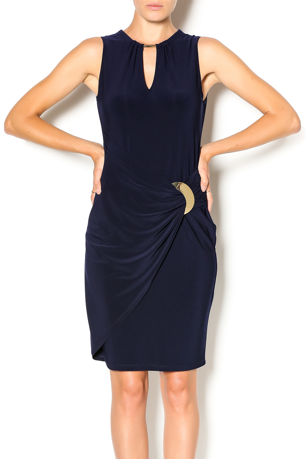 17075e7915 Joseph Ribkoff Navy Dress from New Jersey by Sabine s Boutique ...
