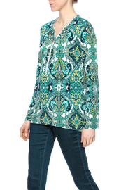 Shoptiques Product: Paisley Zipper Top