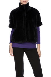 Joseph Ribkoff Short Faux Fur Coat - Product Mini Image