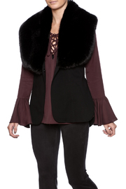 Joseph Ribkoff Sleeveless Fur Vest - Product Mini Image