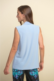Joseph Ribkoff  Sleeveless Tie Front Top - Front full body