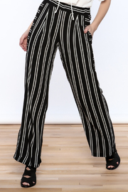Shoptiques Product: Striped Palazzo Pant - Front cropped