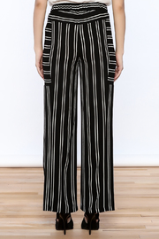 Joseph Ribkoff Striped Palazzo Pant - Back cropped