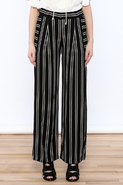 Shoptiques Product: Striped Palazzo Pant - Side cropped