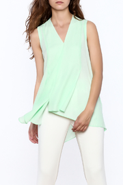 Joseph Ribkoff Mint Sleeveless Top - Front cropped