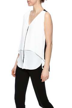 Shoptiques Product: Zipper Front Top