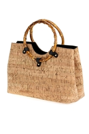 joseph d'arezzo Bamboo Handle Bag - Product Mini Image