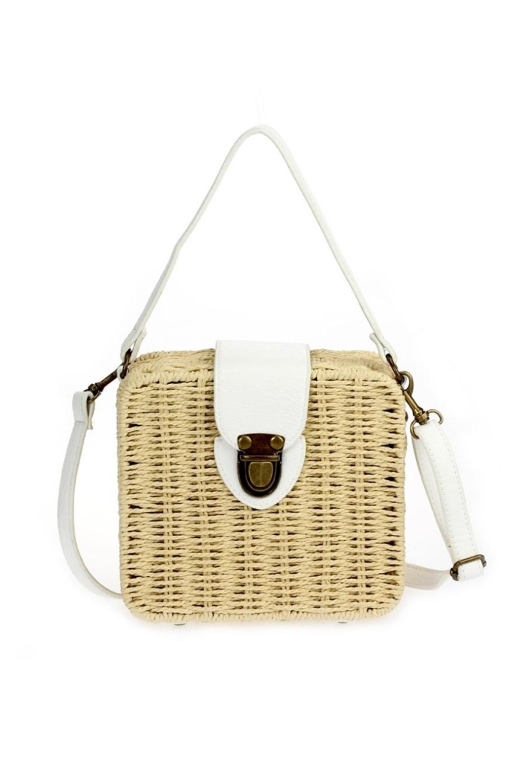 joseph d'arezzo Braided Box Bag - Front Cropped Image