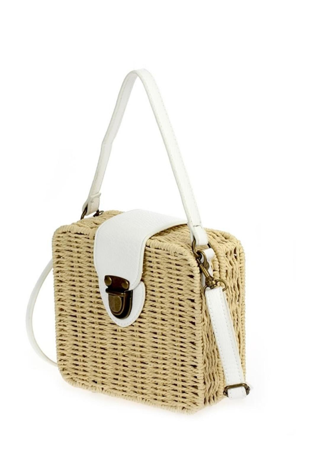 joseph d'arezzo Braided Box Bag - Front Full Image