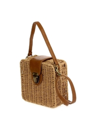 joseph d'arezzo Braided Box Bag - Front full body