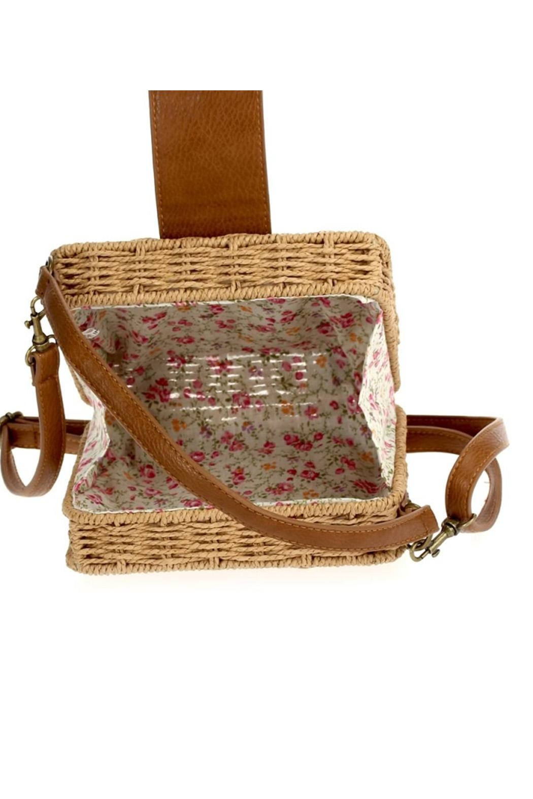 joseph d'arezzo Braided Box Bag - Side Cropped Image