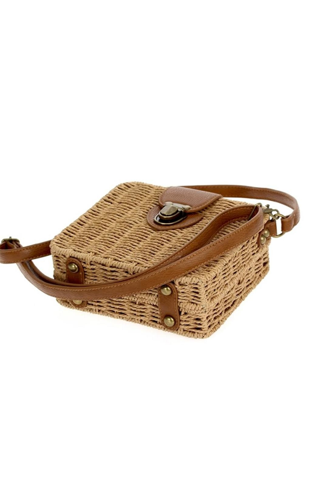 joseph d'arezzo Braided Box Bag - Back Cropped Image