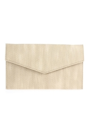 joseph d'arezzo Canvas Envelope Clutch - Product Mini Image