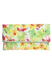 joseph d'arezzo Floral Print Clutch - Front cropped
