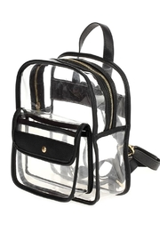 joseph d'arezzo Lucite Backpack - Product Mini Image