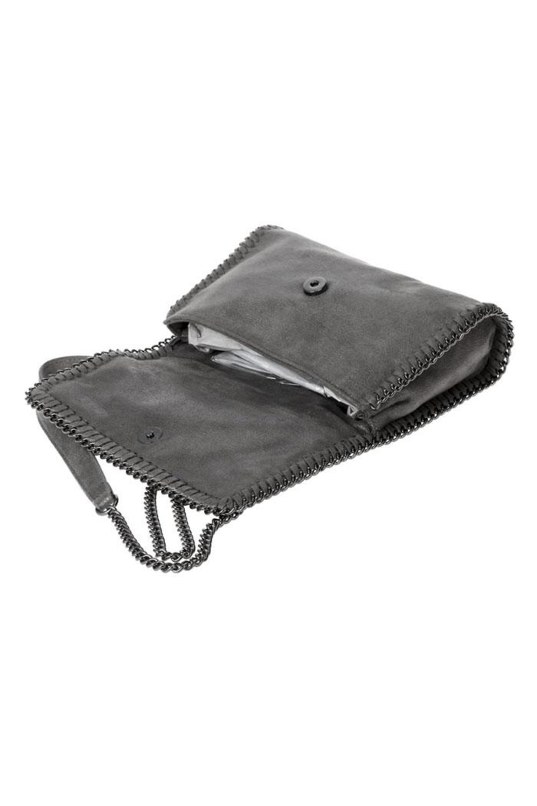 joseph d'arezzo Quilted Crossbody - Side Cropped Image