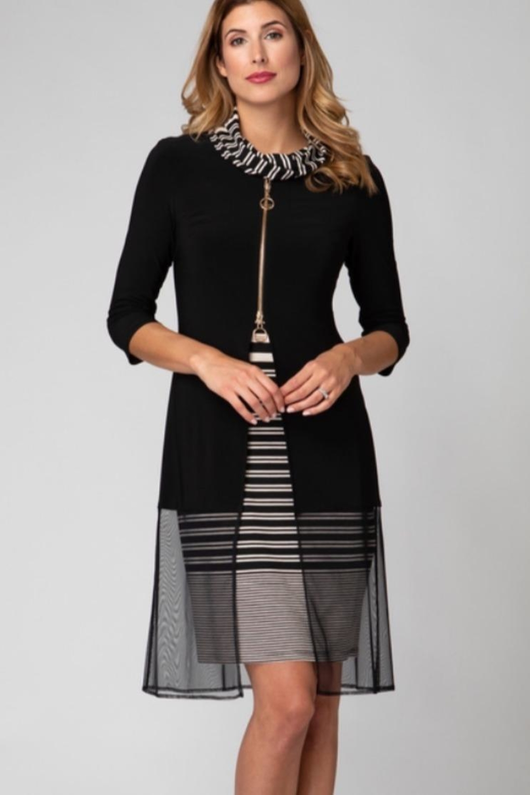 Joseph Ribkoff 2 Layer Dress - Main Image