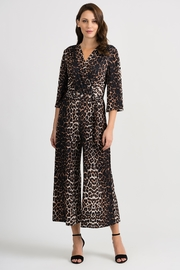 Joseph Ribkoff Animal Print Jumpsuit - Product Mini Image