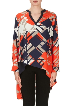 Shoptiques Product: Asymmetric Print Tunic