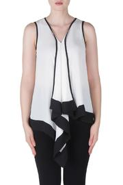 Joseph Ribkoff Asymmetrical Feminine Top - Product Mini Image