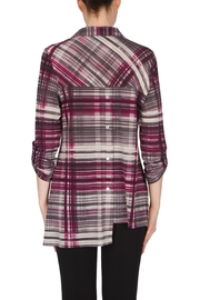 Joseph Ribkoff Asymmetrical Interest Shirt Top - Other
