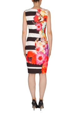 Joseph Ribkoff Banded Floral Dress - Alternate List Image