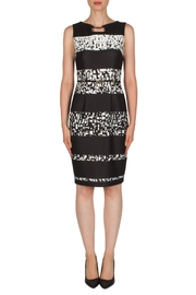 Joseph Ribkoff Banded Printed Dress - Product Mini Image