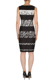 Joseph Ribkoff Banded Printed Dress - Side cropped