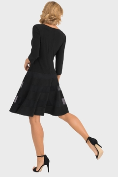 Joseph Ribkoff Barbara Fit-And-Flare Dress - Alternate List Image