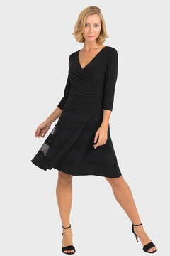 Joseph Ribkoff Barbara Fit-And-Flare Dress - Product List Image