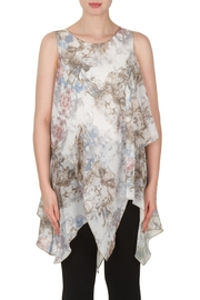 Joseph Ribkoff Baroque Georgette Tunic Top - Product Mini Image