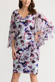 Joseph Ribkoff Beautiful Cape Dress - Product Mini Image