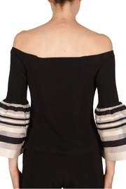 Joseph Ribkoff Bell Sleeve Top - Side cropped