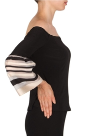 Joseph Ribkoff Bell Sleeve Top - Front full body