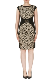 Joseph Ribkoff Belted Texture Dress - Product Mini Image