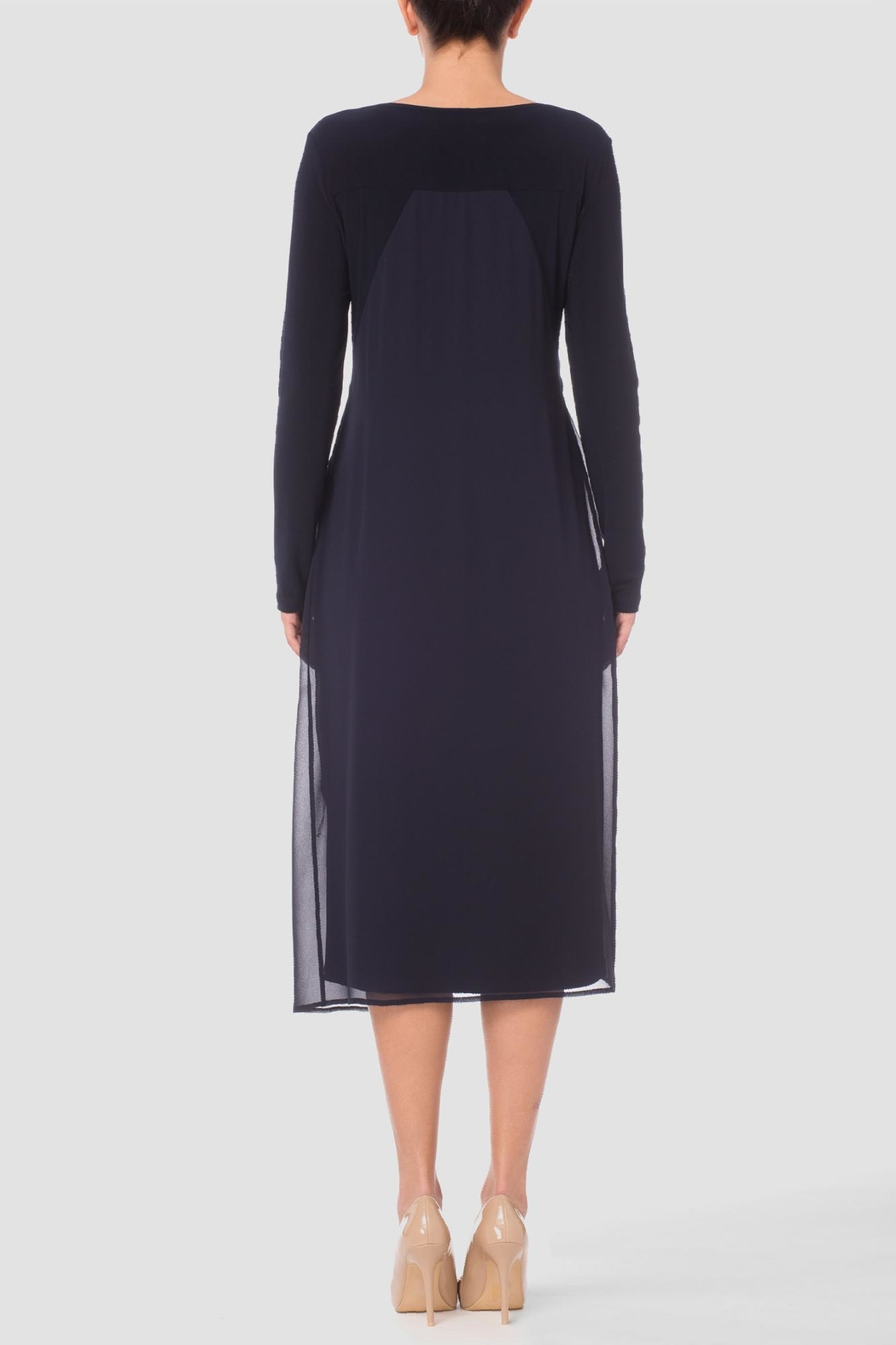 Joseph Ribkoff Bess Midnight Dress - Front Full Image