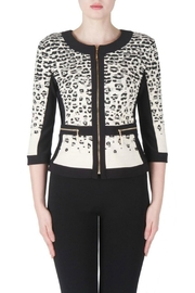 Joseph Ribkoff Black Clay Jacket - Product Mini Image