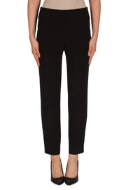 Joseph Ribkoff Black Crop Pant - Product Mini Image