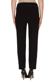 Joseph Ribkoff Black Crop Pant - Front full body