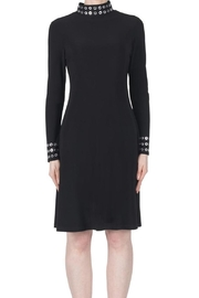 Joseph Ribkoff Black Collared Dress - Product Mini Image