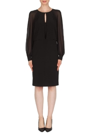 Joseph Ribkoff Blouson Black Dress - Product Mini Image