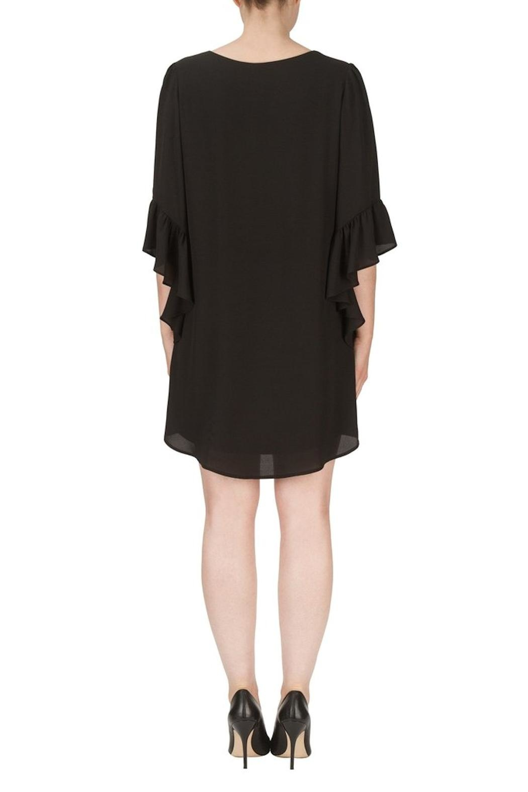 Joseph Ribkoff Black Dress - Front Full Image