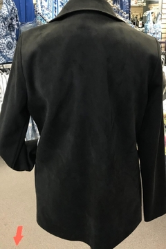 Joseph Ribkoff Black Faux Suede Jacket - Alternate List Image