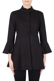 Joseph Ribkoff Black Herringbone Jacket - Product Mini Image