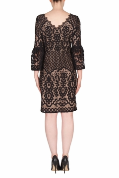 Joseph Ribkoff Black Lace Dress - Alternate List Image