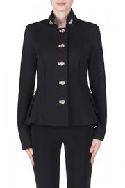 Joseph Ribkoff Black Military Jacket - Product Mini Image
