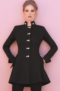 Shoptiques Product: Black Military Jacket