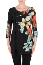 Joseph Ribkoff Black Print Tunic - Product Mini Image