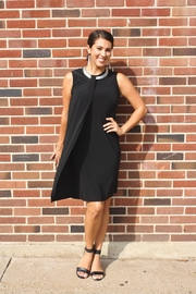 Joseph Ribkoff Black Shift Dress - Product Mini Image