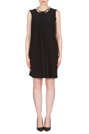 Joseph Ribkoff Black Collar Dress - Product Mini Image